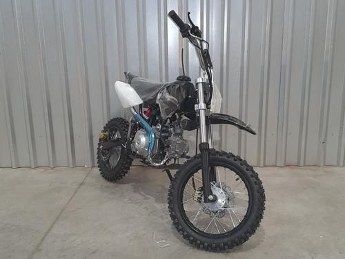 Moto Pitbike  Encendido Electrico Aro 14-12