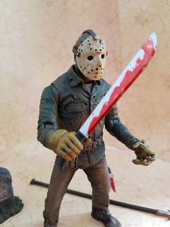 Jason Voorhees Parte 6 Impecable! Mezco Neca Mcfarlane