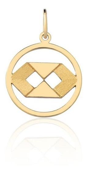 Pingente Formatura Curso Ouro Puro 10k