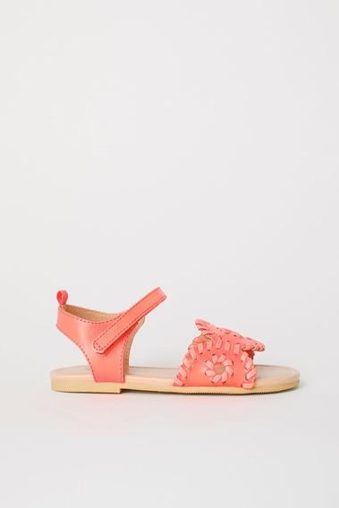 Sandalias Nena H&m Talle32 Eur Size 1 Usa. Nuevas Originales