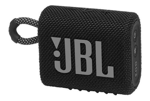 Imagem 1 de 6 de Caixa De Som Jbl Go 3, Bluetooth, Preta