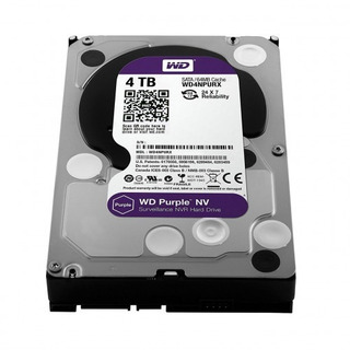 Disco Hdd Wd S 4 Tb S-ata3 Purple Surveillance 64mb