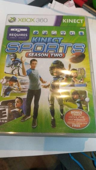 Kinect Sports 2 Xbox 360 Capa Impressa (frete 18 Reais)