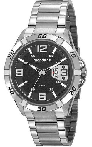 Relógio Masculino Analógico Mondaine Prata 53834gomvne1