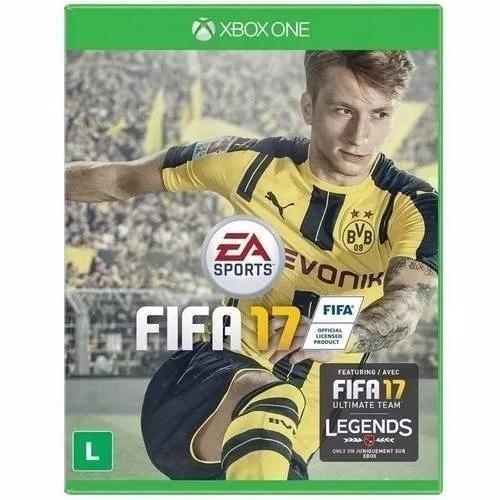 Fifa 17 / 2017 Xbox One Mídia Física Novo Lacrado Original