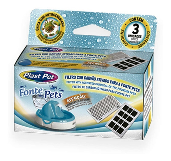 Filtro Da Fonte Purificadora Plast Pet