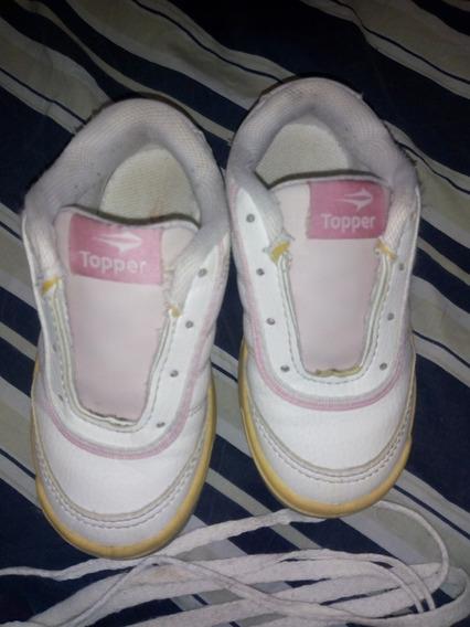 Zapatillas Topper Kids Usadas