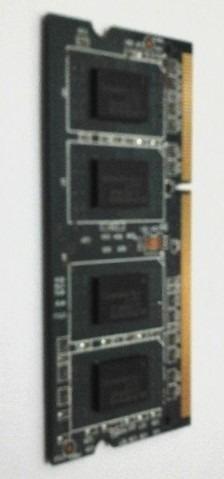 Pente De Memória 2gb Ddr3 Sdram Para Notebook Pc3-10600s
