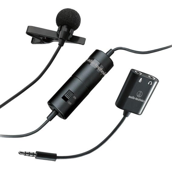 Microfone De Lapela Audio-technica Atr3350is - Semi Novo