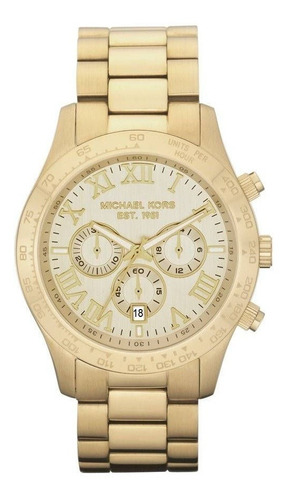 Relógio Michael Kors Feminino Dourado - Omk8214/z