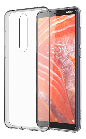 Funda Clear Transparente Nokia 3.1 Plus