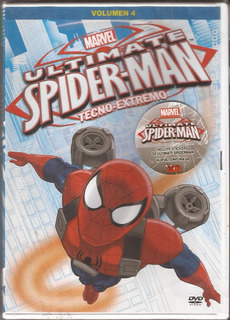 Marvel Ultimate Spiderman Volumen 4 Dvd Original Nuevo
