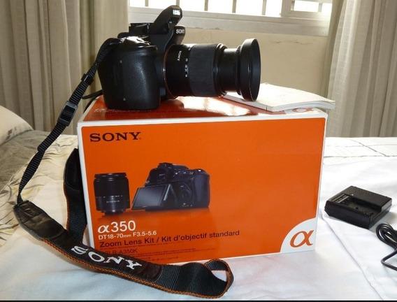 Câmera Fotográfica Sony Dslr A350