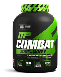 Combat 100% Whey Protein 1,8kg 4lbs Mp Musclepharm