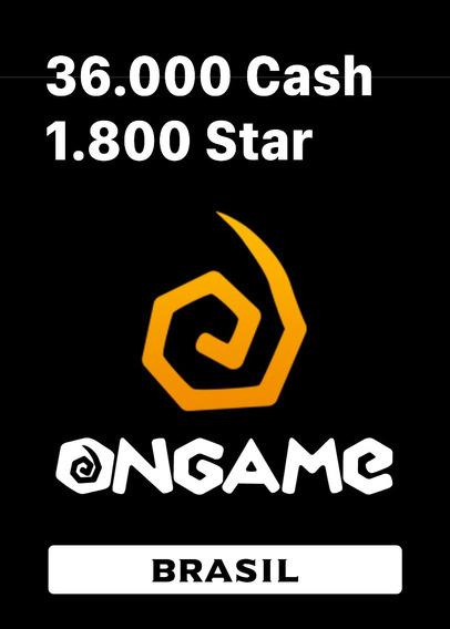 Ongame 36.000 Cash Star Point Blank Aika Metin 2 Cdz Online