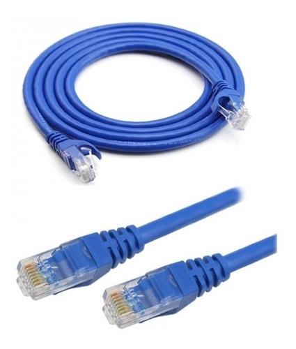 Cable De Red Ethernet Internet 10 Metros Rj45