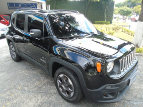 Jeep Renegade 1.8 Sport 2016 Preto Flex