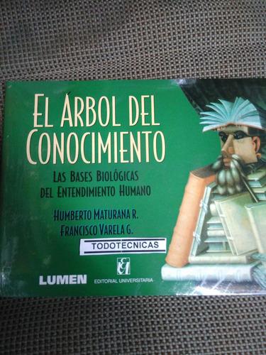 Imagen 1 de 3 de El Árbol Del Conocimiento, De Humberto Maturana        -lm-