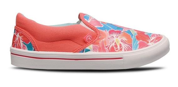 Zapatilla Prowess Coral / Celeste Flores 35 Al 41