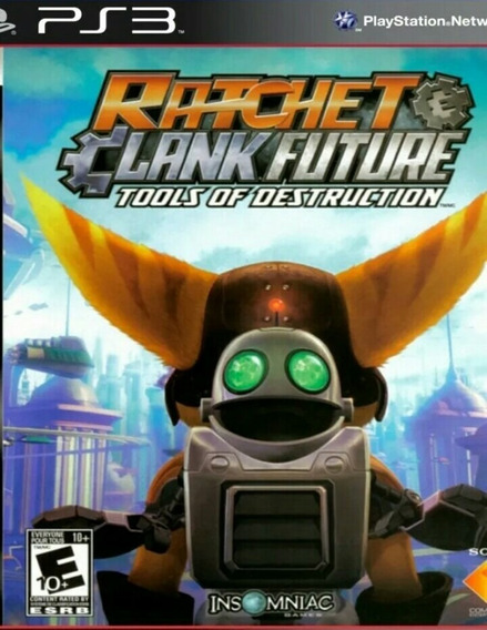Ratchet & Clank Future Tools Of Destruction Ps3 Play3 Jogo