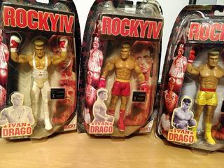 Figuras De Rocky Balboa , Iván Dragón