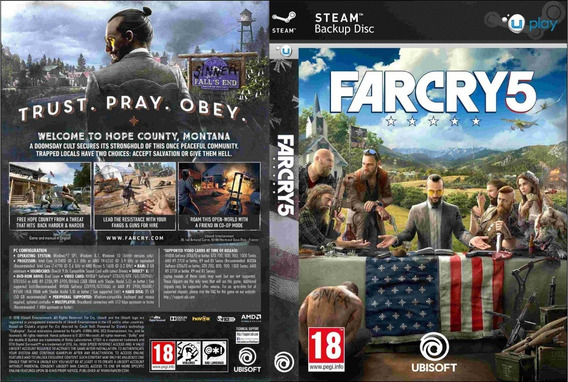 Far Cry 5 Pc (mídia Física)