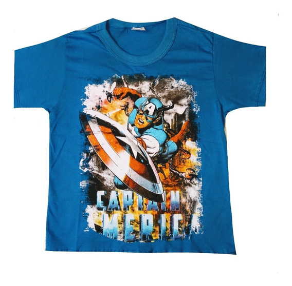 Kit C /15 Camiseta Camisa Super Heróis Infantil Personagens