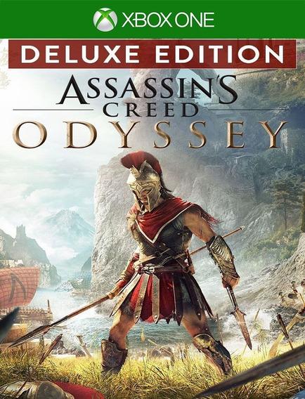 Assassins Creed Odyssey Deluxe Xbox - 25 Dígitos (envio Flash)