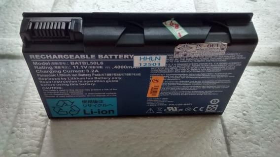 Bateria Notebook Acer 11.1 V 4 A Batbl50l6 - Com Defeito - 12501