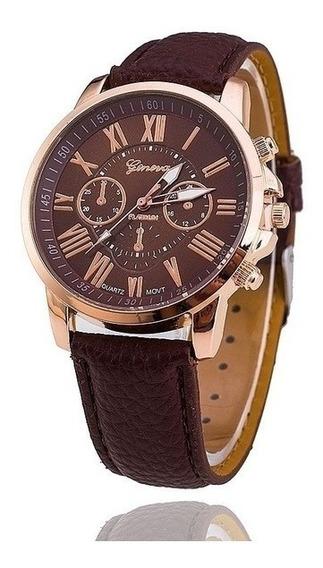 Relógio Geneva Vansvar Rhinestone Lady Mmxix - Quartzo