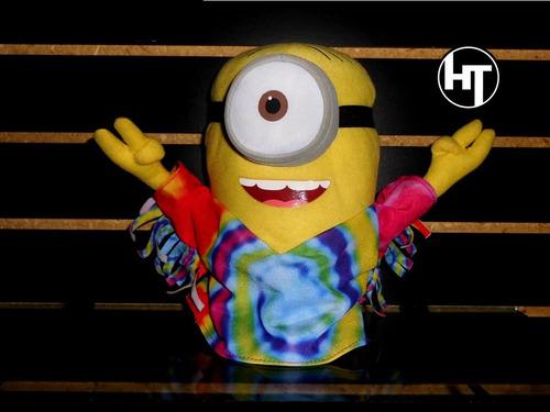Imagen 1 de 5 de Mi Villano Favorito, Minion, Hippie, Peluche, Toy Factory