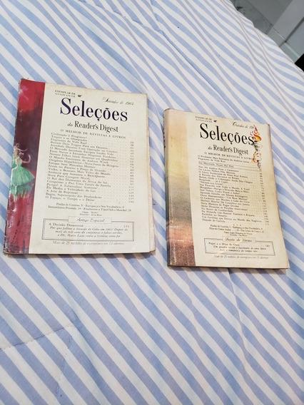Kit 2 Revistas Seleções 1964