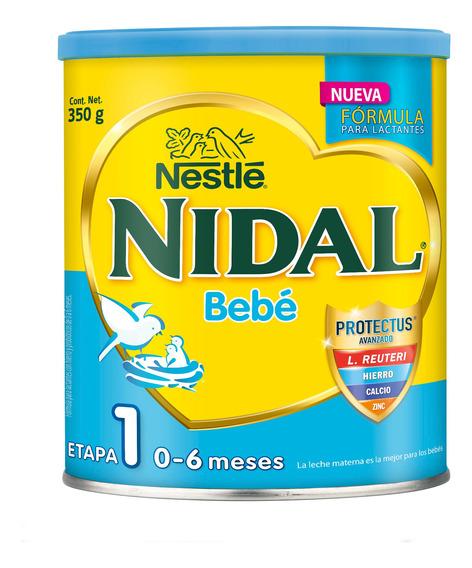 Leche Nidal 1, Lata 350gr Para Bebe Niño Y Niña