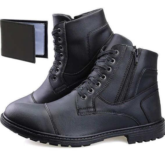 Bota Casual Coturno Masculino Super Confortavel Adventure