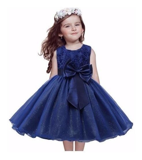 Vestido Infantil Festa Dama Honra Pronta Entrega