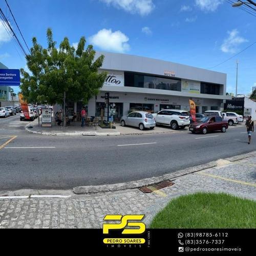 Imagem 1 de 10 de Sala Para Alugar, 28 M² Por R$ 1.200/mês - Tambaú - João Pessoa/pb - Sa0230