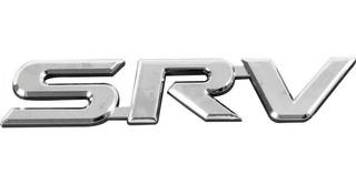 Emblema Logo Insígnia Palabra Srv - Toyota