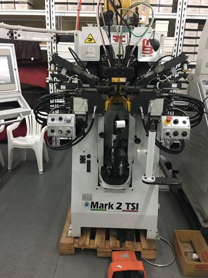 Maquina De Cerrar Talón De Calzados Molina Bianchi Italiana