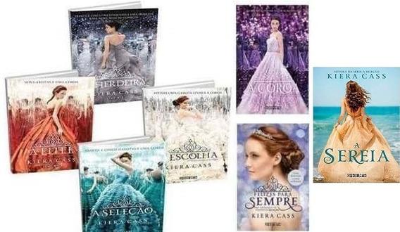 Coleção A Seleção + A Sereia - 7 Livros - Kiera Cass