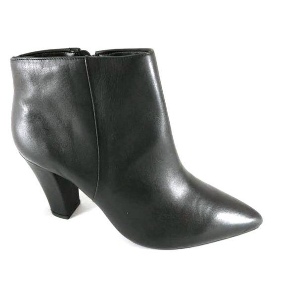 Bota Cano Curto Sapatoweb Salto Preto - Wjordanapto
