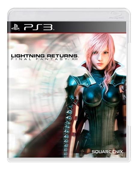 Jogo Novo Lightning Returns Final Fantasy Xiii Para Ps3