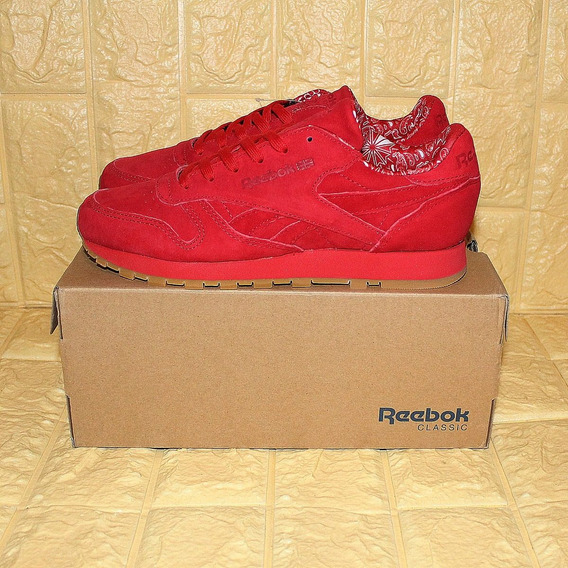 Tênis Reebok Classic Leather Tdc Vermelho Novo Original 36