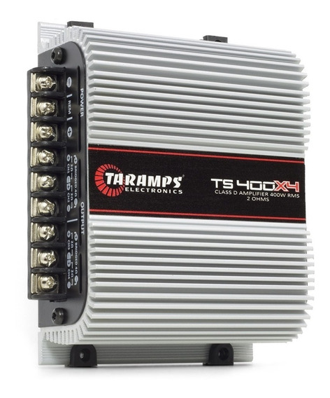Modulo Taramps Ts400 T400 X4 Digital 400w Rms 4 Canais 2 Ohm