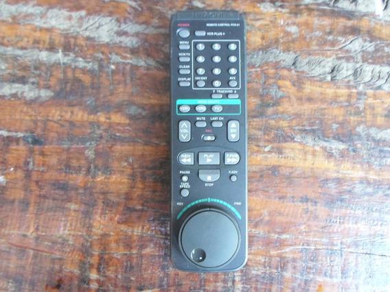 Controle Remoto Video Cassete Hitach Pcr-61 Novo