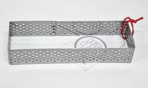 Imagen 1 de 5 de Cintura Perforada Molde Rectangular 12x4cm Doña Clara