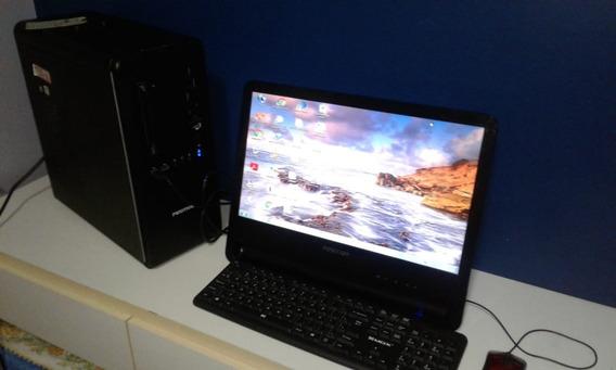 Computador Positivo Premium Pctv Completo Hd 500gb Barato!