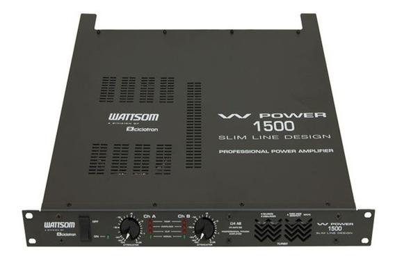 Potência Ciclotron W Power 1500 375w Rms