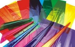Papel Celofan Color 90x50 X10 Unidades