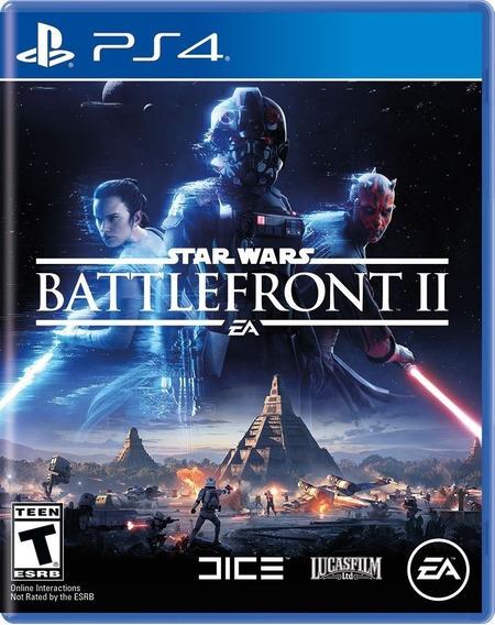 Star Wars Battlefront 2 Ps4 Midia Fisica Novo Lacrado