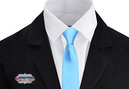 Terno Masculino Infantil Conjunto Completo Camisa Gravata Festa Pajem 4 Ao16